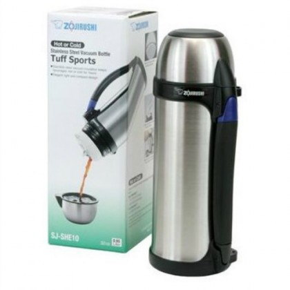 ZOJIRUSHI 1.0L S/S BOTTLE WITH CUP -SJ-SHE-10-XA (STAINLESS)