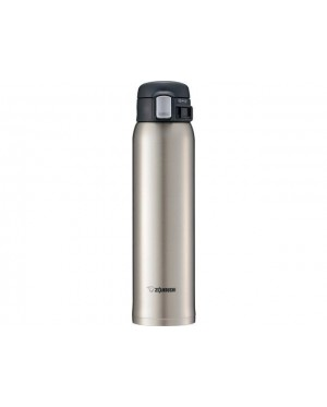 ZOJIRUSHI 600ML S/S ONE TOUCH OPEN MUG - SM-SD-60