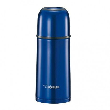 ZOJIRUSHI 350ML S/S BOTTLE WITH CUP - SV-GR-35