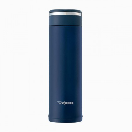 ZOJIRUSHI 480ML S/S TWIST OPEN MUG - SM-JF-48