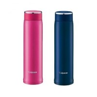 ZOJIRUSHI 600ML S/S TWIST OPEN MUG - SM-LA-60