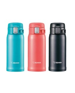 ZOJIRUSHI 360ML S/S ONE-TOUCH OPEN MUG - SM-SC-36