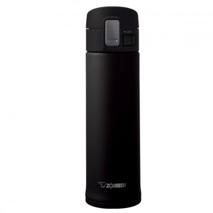 ZOJIRUSHI 480ML S/S ONE TOUCH OPEN MUG - SM-KHE-48