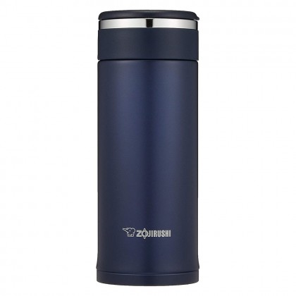 ZOJIRUSHI 360ML S/S TWIST-OPEN MUG - SM-JF-36